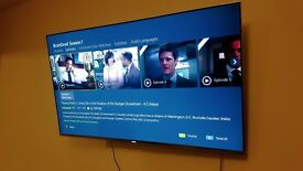 SAMSUNG TELEVISION UE49KS7000 - 4k res HDR hdr10 - 6 months used - mint condition