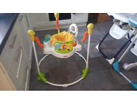 Fisher Price Sunny Days Jumperoo very good confition
