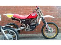 1989 CCM 500 cc motocross 4 stroke a rare classic bike