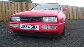 2.0L VW CORRADO G60, TORNADO RED, EXCELLENT CONDITION, BAHN-BRENNER SUPERCHARGER