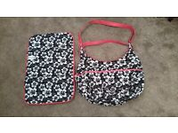 Baby Changing bag including Matching changing Mat
