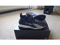 Men's Blue Puma Cell Trainers, size UK 9, brand new