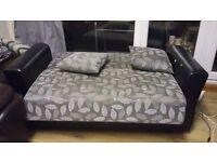 Sofa for sale cheap price, turuns into sofa bed.