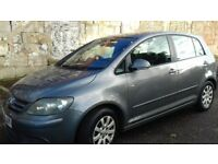 GOLF PLUS (DIESEL 1.8) 1 YEAR MOT EXCELLENT CONDITION DRIVES REALLY WELL IDEAL FAMILY CAR! NO RUST