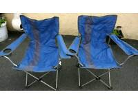 Euro Hike Compact Camping Chairs X 2.