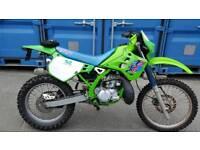 Kawasaki kdx 125 1990