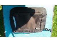 laptop / tablet carry / shoulder bag size 14 inch long and 11 inch hight in brown