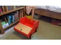 Habitat trundle toy storage pushalong