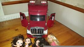 BABY BLITZ LORRY AND 4 DOLLS