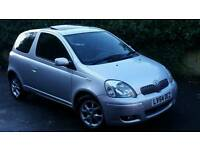 TOYOTA YARIS LONG MOT LOW MILEAGE