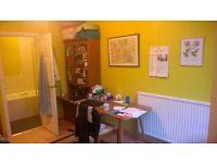 Double room with en suite bathroom to rent in quiet house in Chiswick