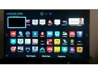 Samsung LED 3d smart TV 40 inch