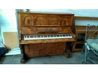 Jens V Hoffman upright Piano