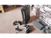 Xbox 360 Elite 120GB - Plus 2 Controllers - Plus N Network adapter - 13 Games.