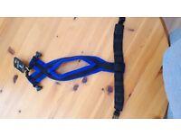 Dog-Games fleece harness size 2 in Blue