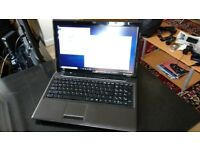 "MSI 15"" laptop i7 quad 8GB RAM 1TB HDD 256GB SSD Full HD screen"