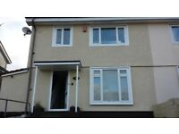 3 bedroom semi detached house to rent in honicknowle. Large garden and large garages