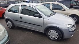 VAUXHALL CORSA LIFE 1.0 LTR , LOW MILES ONLY 56,000 , 2 OWNERS , LOW INSURANCE ....£1395