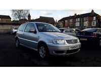 2001 VOLKSWAGEN POLO 1.4 MATCH++FULL SERVICE HISTORY++12 MONTH M.O.T++1 FORMER KEEPER++