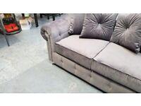 🤞🏽🤞🏽LUXURIOUS SOFA 🤞🏽🤞🏽 BRAND NEW ASHWIN PLUSH VELVET CORNER SOFA OR 3+2 SOFA SET IN STOCK