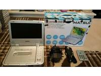 Matsui Home and car portable DVD player £20