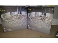 """gala glass chandelier NEXT """"new boxed"""""""