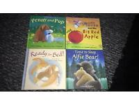 4 bedtime story books