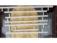 7x white blinds sale 70