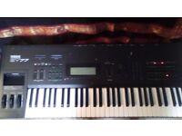 Yamaha SY77 FM/AWM2 Keyboard Synth