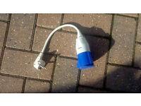 Mains cable adaptor - european plug