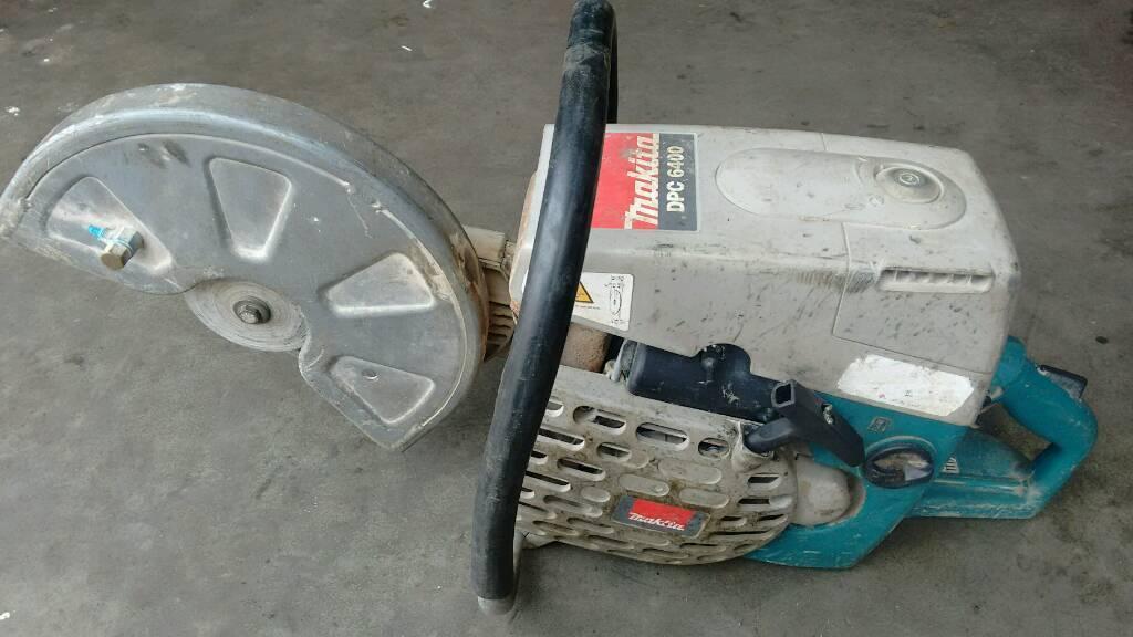 Makita dpc6400 stone cutter/ stihl saw