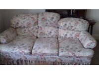 Chesterfield sofa and 2 armchairs