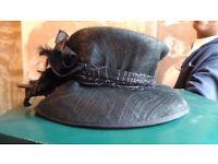 Black Fashion Hat.