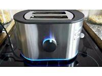 Light up blue led toaster