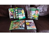 COLLECTION OF CELTIC ANNUALS, CELTIC VIEWS & OTHERS