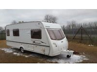 LUNAR FREELANDER 524 - 4 BERTH WITH AWNING AND MOTOR MOVER 2003