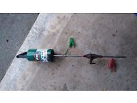Electric fence ,poles and tape
