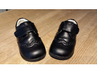 Infant smart black shoes. Size 5. Very good condition, worn once for about an hour during a wedding
