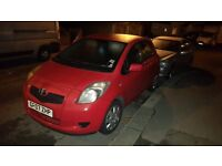 toyota yaris, one lady owner, full service history