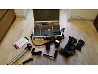 Chinon camera & assoseries NOT DIGITAL