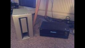 Sony 700w 7.1 Surround Sound Amp/Receiver and Sub
