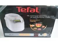 Tefal Multicook Advanced 45 in 1 plus recipe book