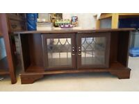 FOR SALE - Mahogany TV Stand