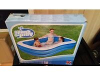 Brand new 2 ring paddling pool