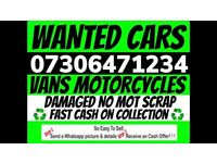 🔵♻️ SELL MY CAR VAN FOR CASH ANY CONDITION SELL MY SCRAP COLLECTION TODAY