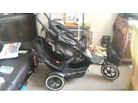 For Sale Phil & Teds Explorer Double buggy