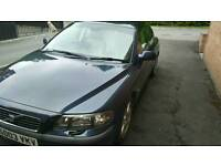 Volvo s60. D5. 2003 y. Leather. Blue. 146 miles. Mot may 2018