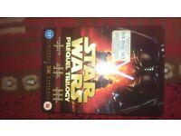 Star wars prequel dvd boxset new sealed