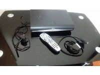 Sky+ Hd Box Black with remot and cable