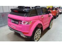 Range Rover Style 12v pink ride on kids electric car BRAND NEW BOXED nice christmas present gift